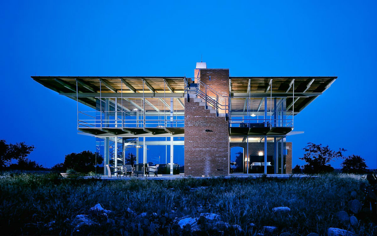 glass house texas