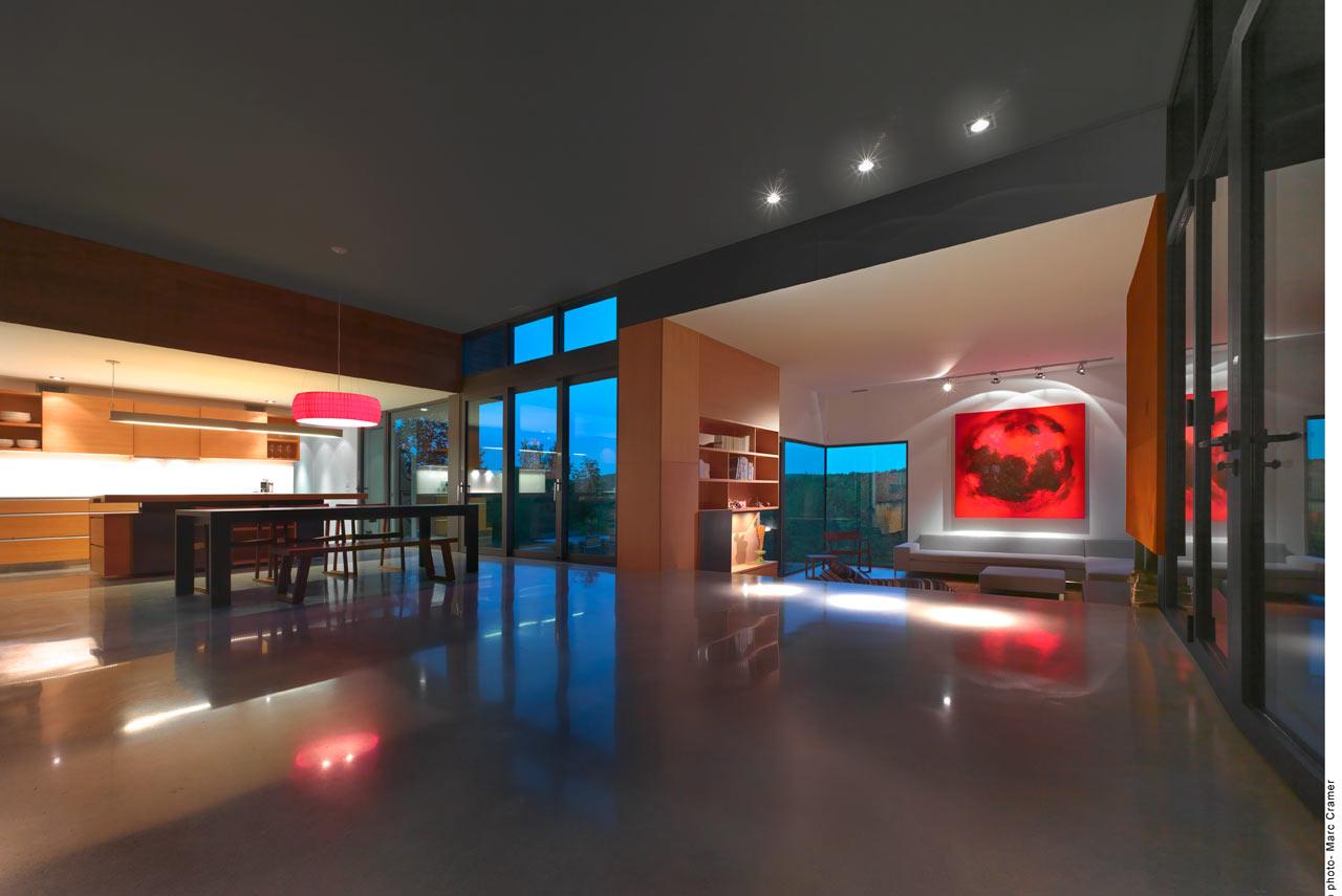 open-concept home