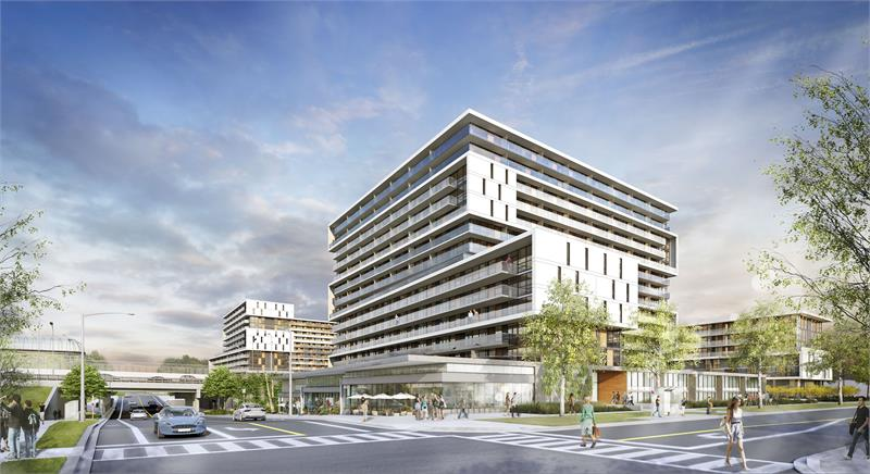 the yorkdale condos_rendering