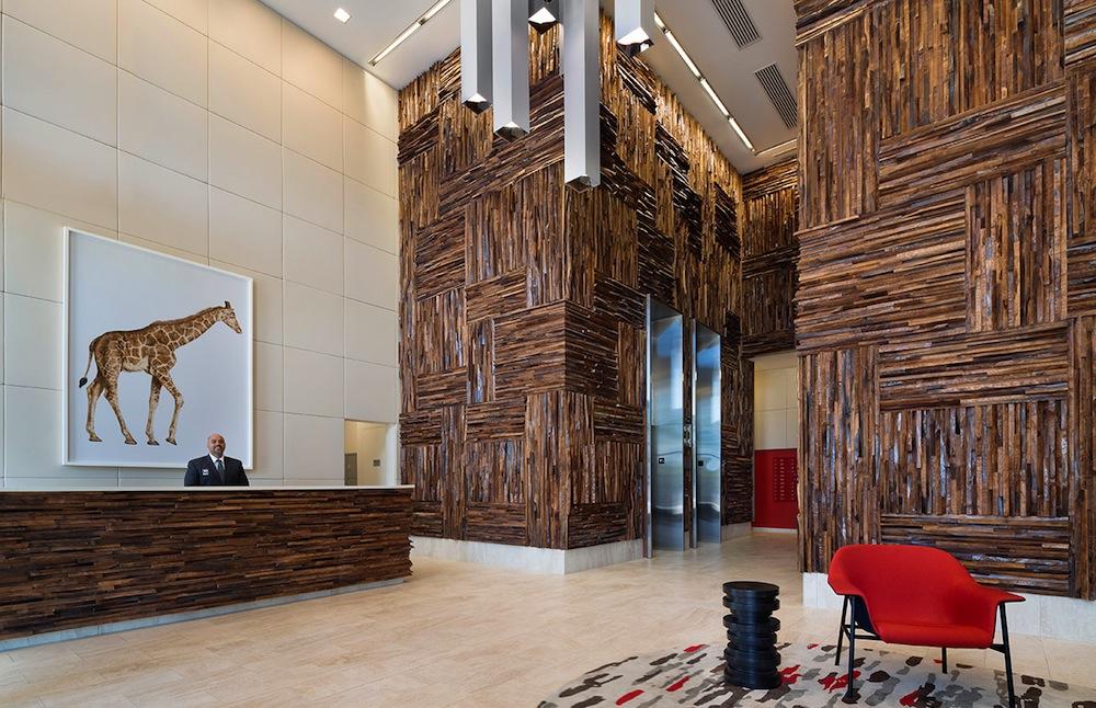 18 Park lobby