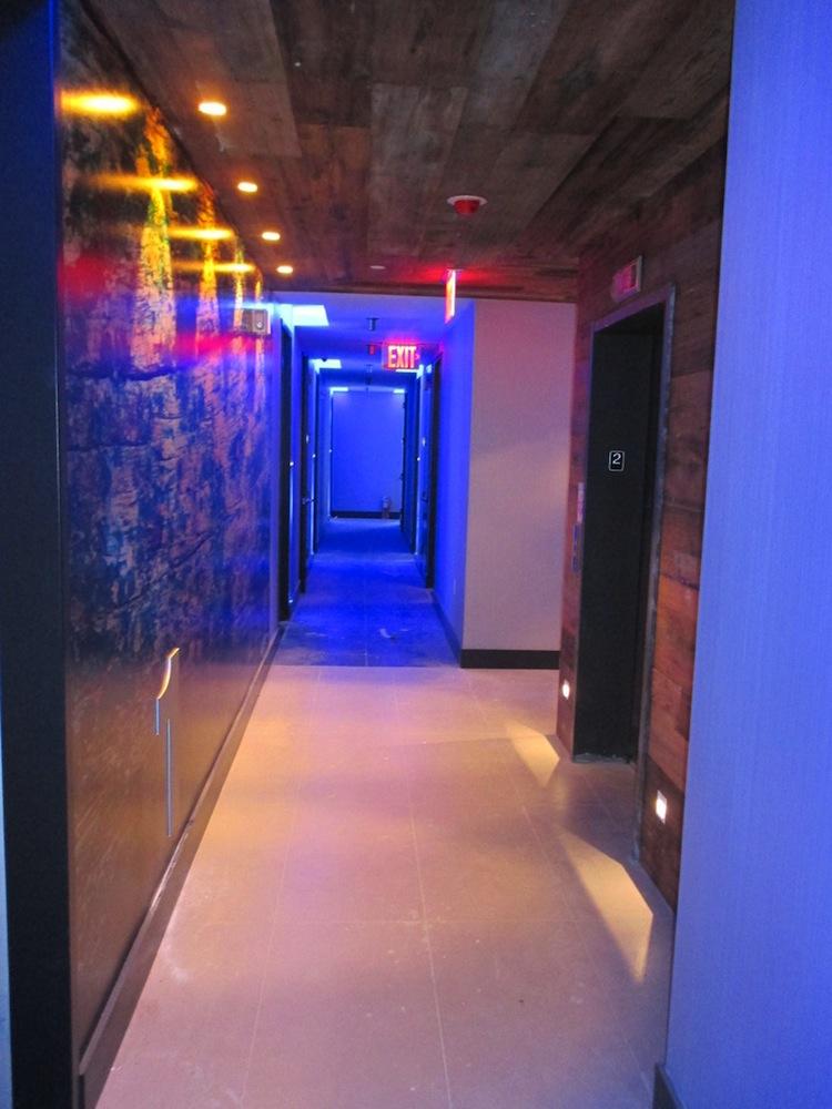 74 Maujer hallway
