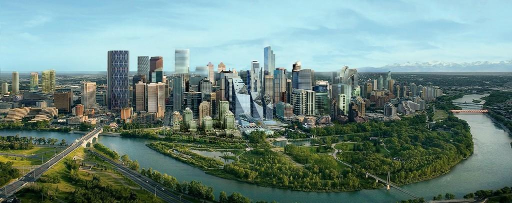 Calgary future skyline