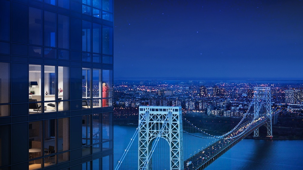 New Renderings Out For The Modern Fort Lee S Tallest Tower