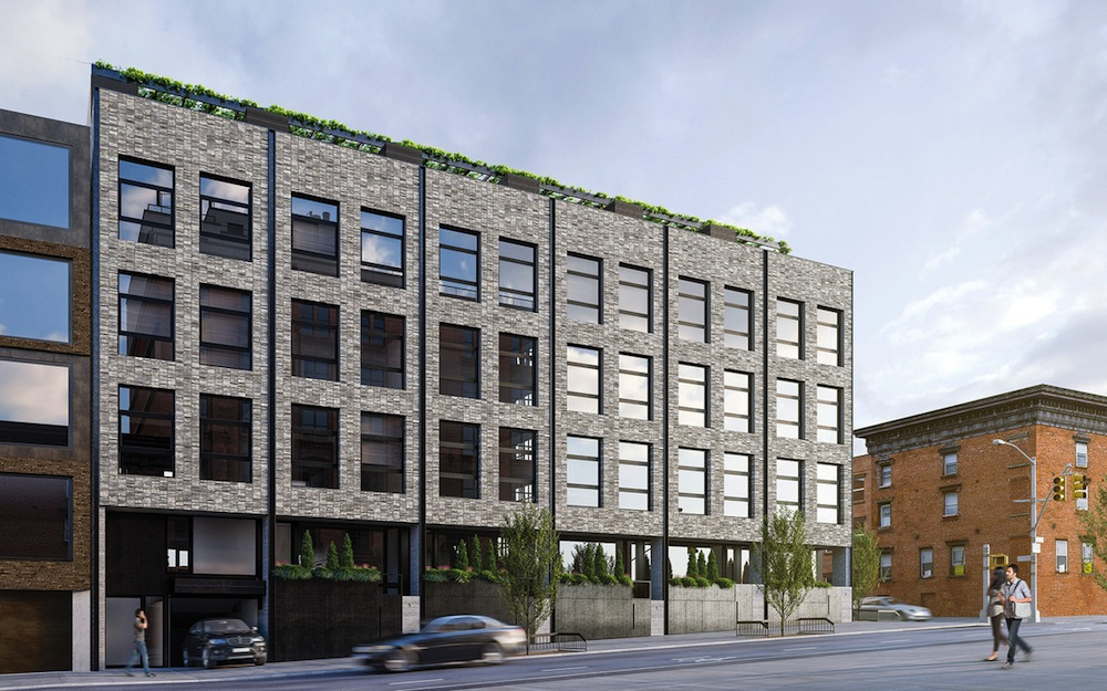 Wythe Lane townhouses exterior 2