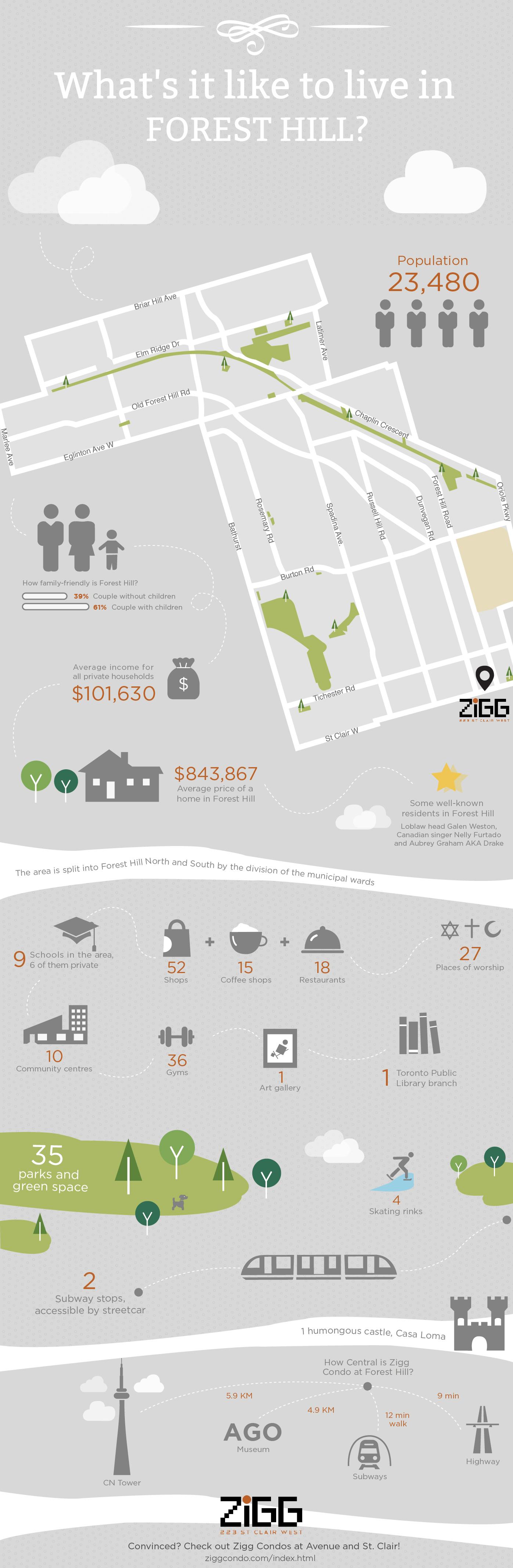 Zigg Condos infographic