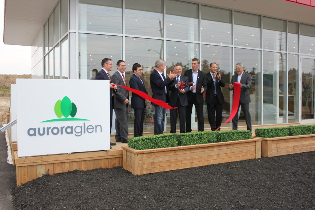 aurora glen ribbon cutting