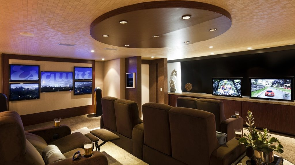 bachelor home theater
