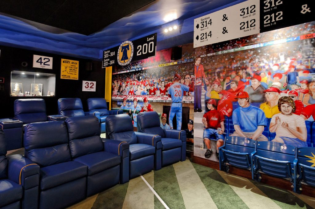 baseball home theater