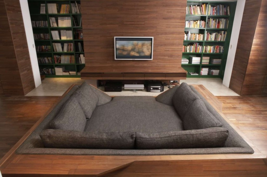 home theater bed