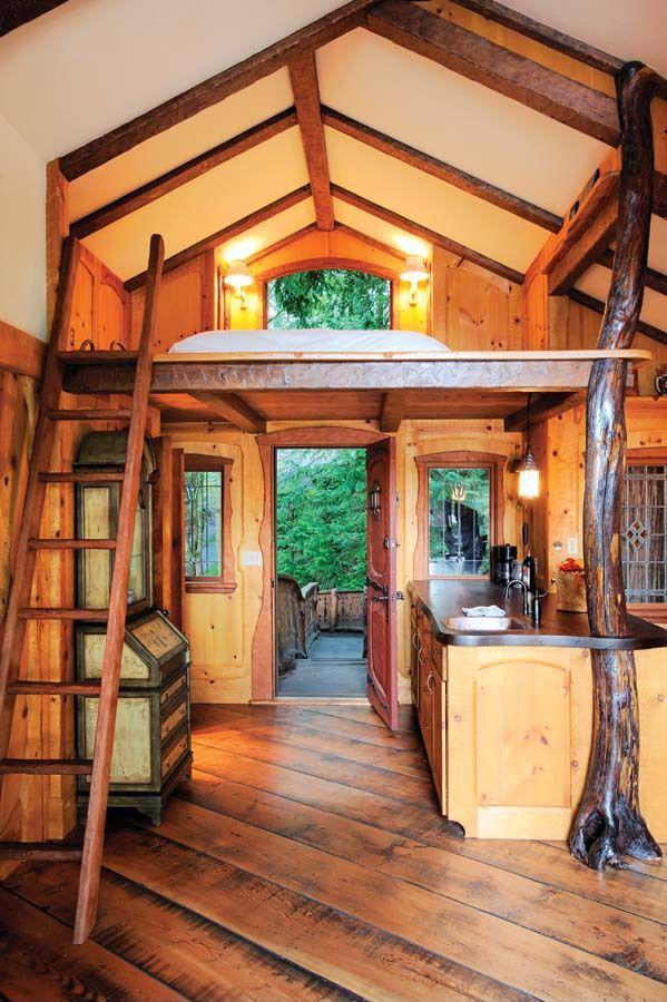 loft tree house