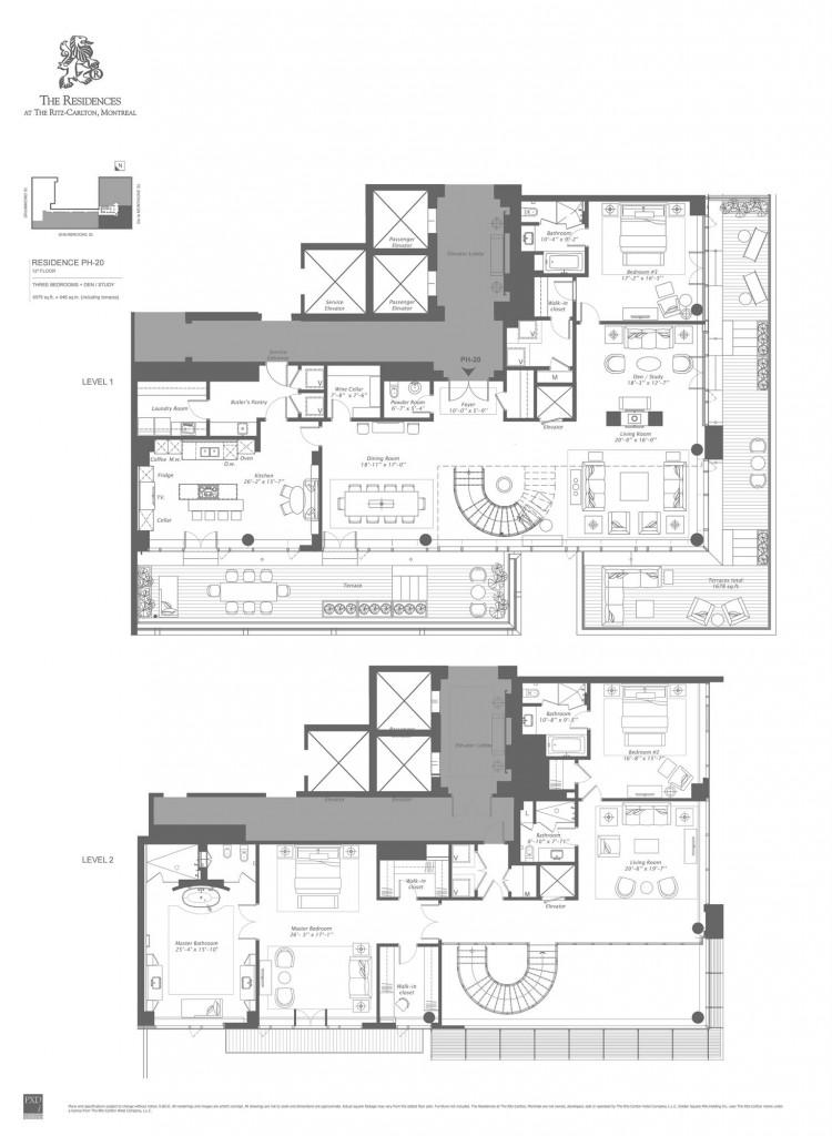 ritz penthouse montreal condo