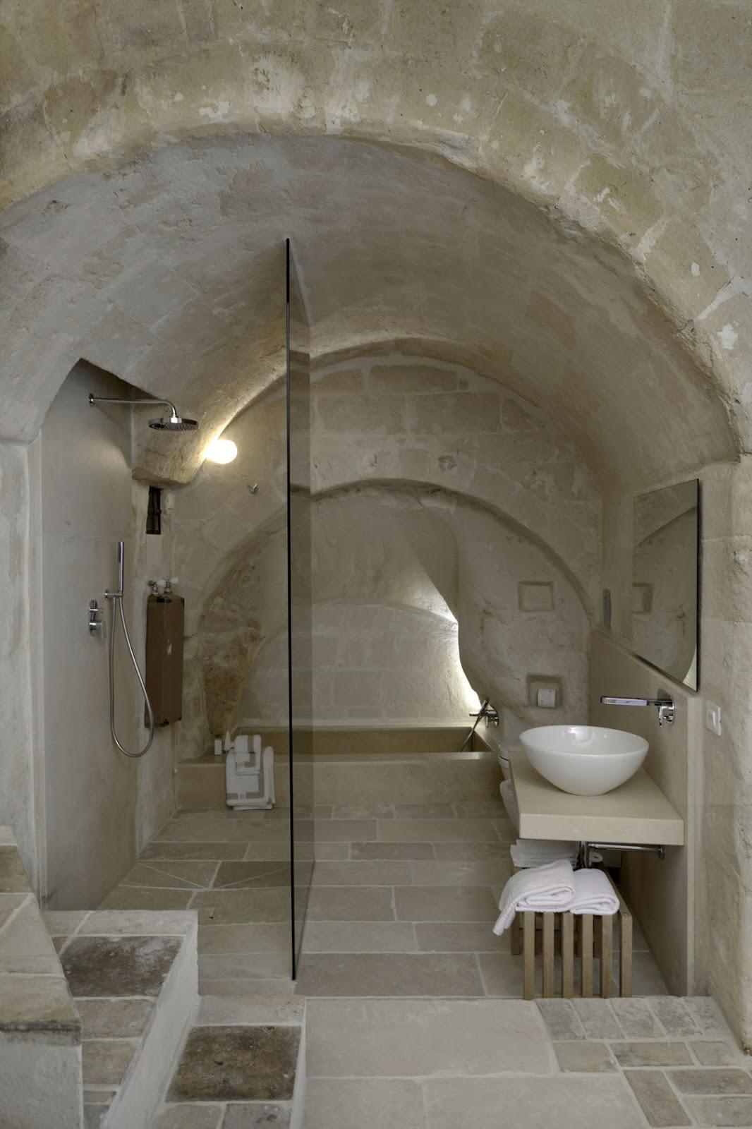 stone shower-1