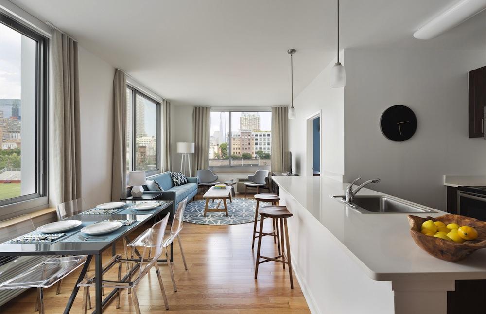 18 Park interiors kitchen