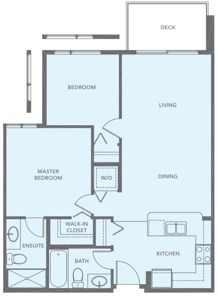 Belmont Shore floorplan