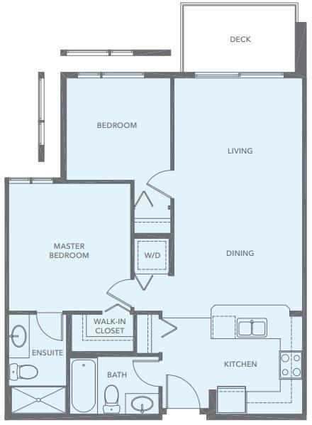Belmont Shore floorplan