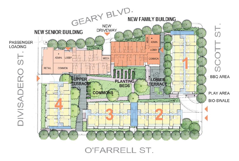 Mercy Housing Midtown Park diagram