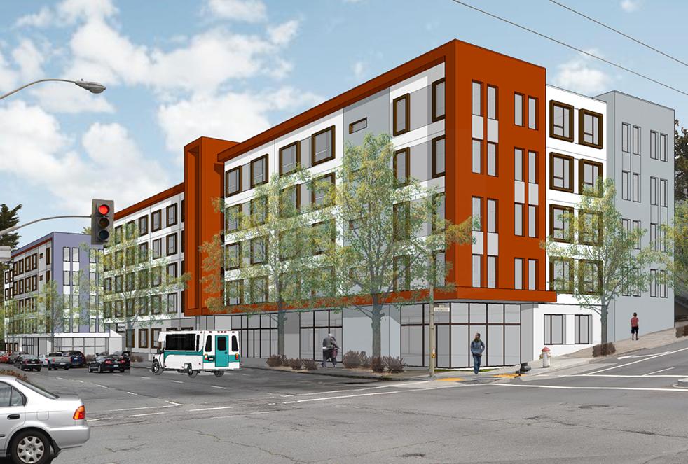 Mercy Housing Midtown Park red rendering
