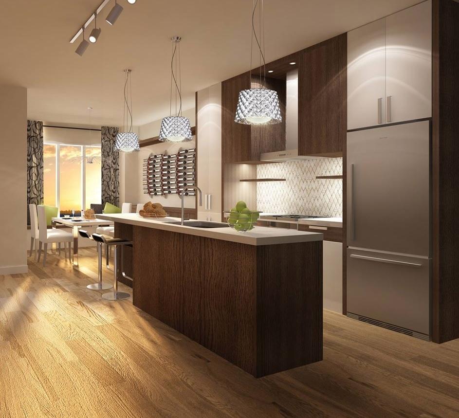 Modern Estates kitchen