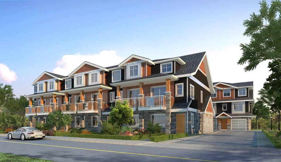 modern estates richmond townhomes