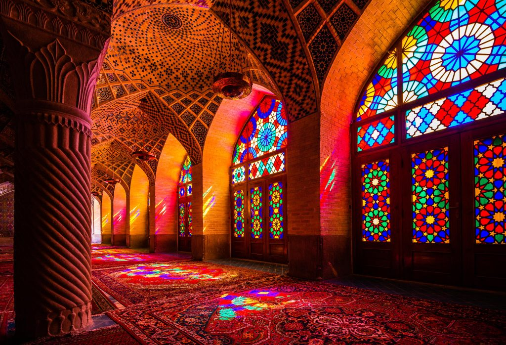 "Nasīr al-Mulk Mosque aka ""Pink Mosque""   Shiraz"