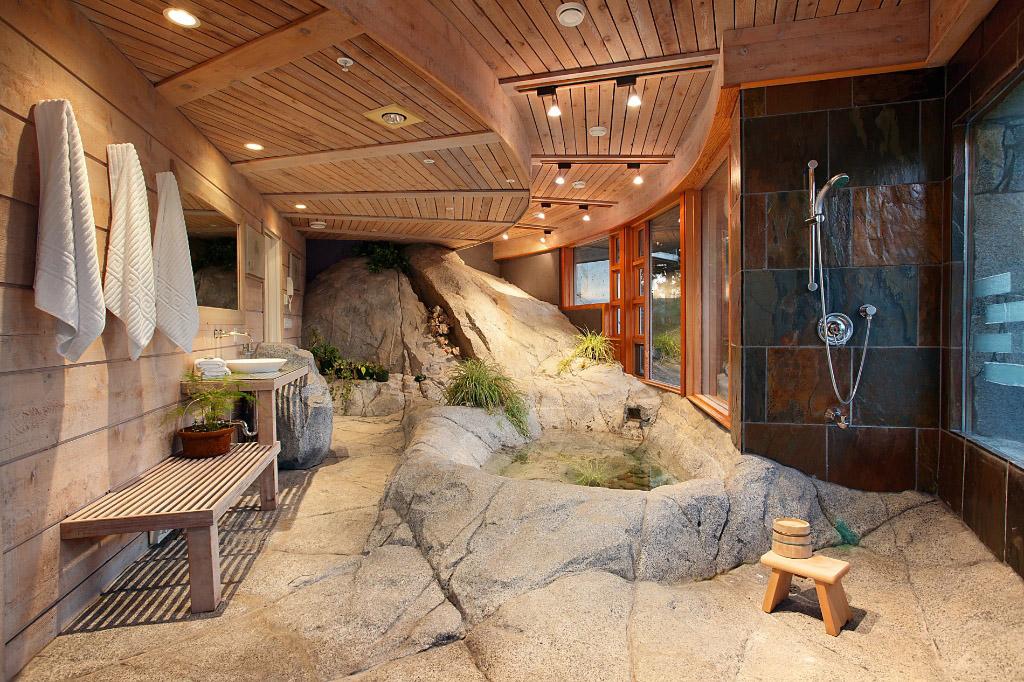 stone shower-2