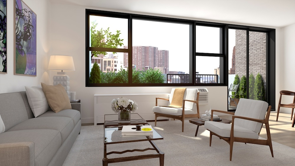 175 West 95th Street living room