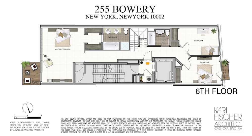 255 Bowery FloorPlans-3D-Unit-PH-6