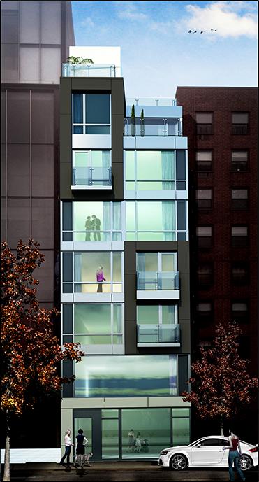 255 Bowery facade