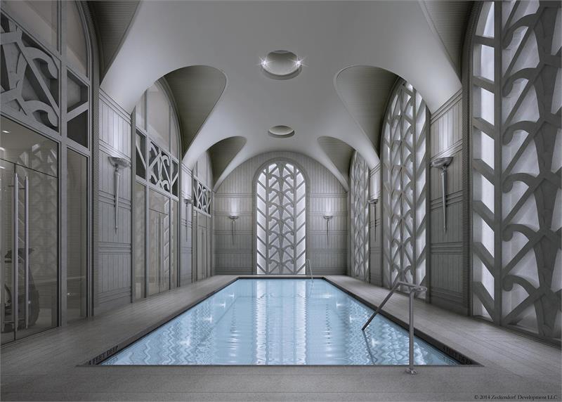 520 Park pool