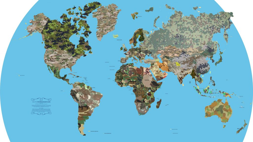 Camouflages of the world