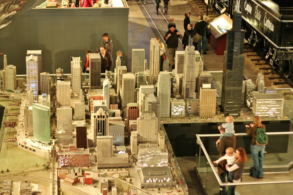 Chicago miniature model city-1