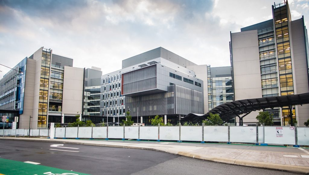 Gold Coast University Hospital most expensive buildings