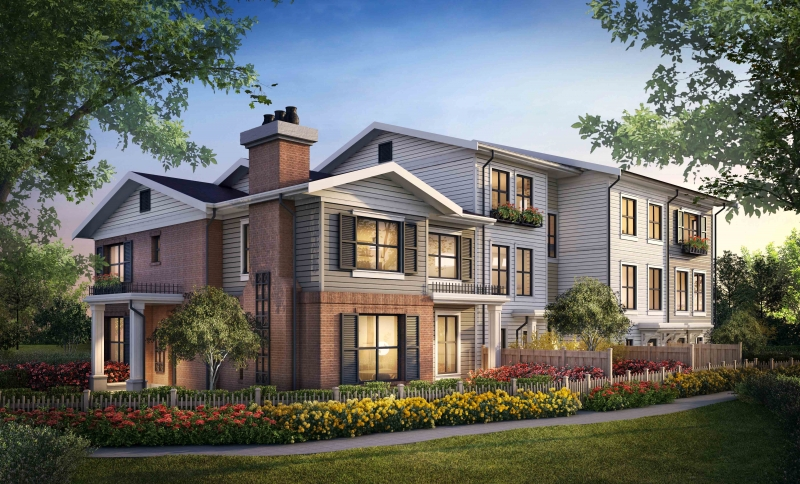 Kaleido North Delta townhomes