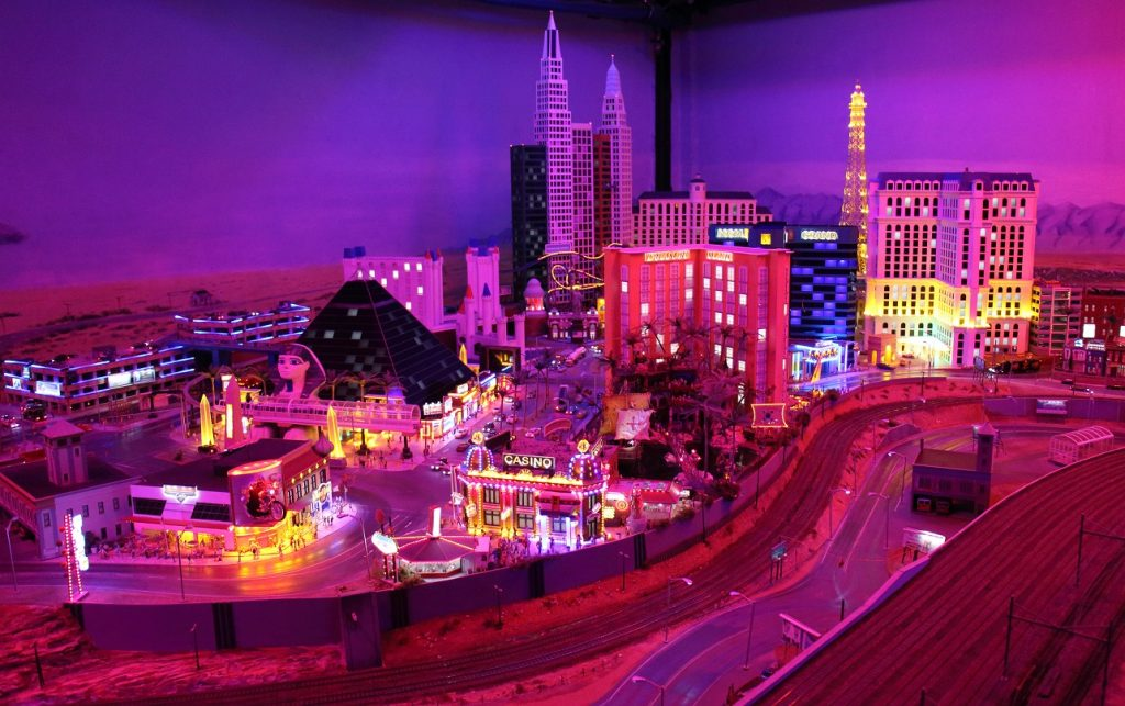 Las Vegas miniature model city