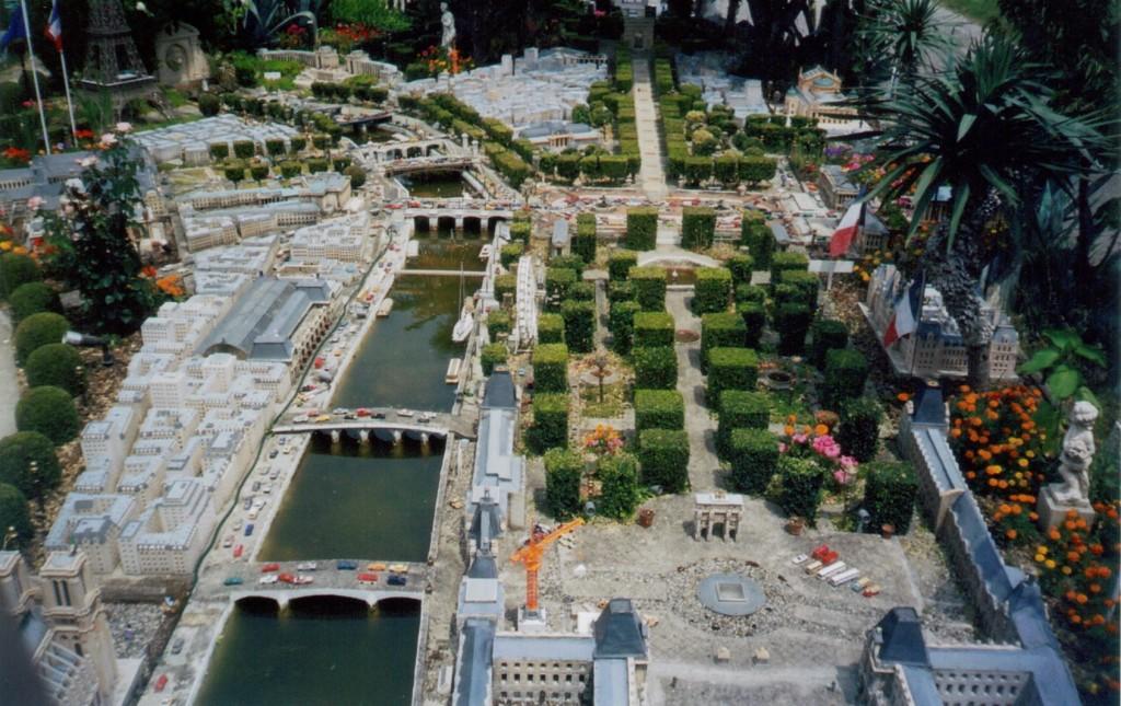 Paris minitiature city