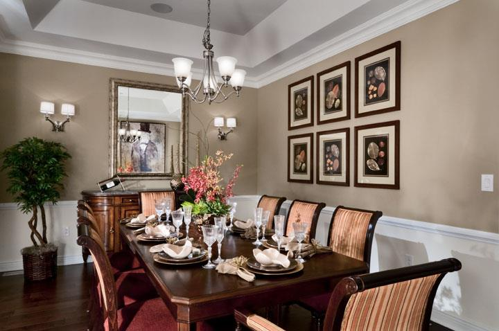 Residences at Palmer Square dining room