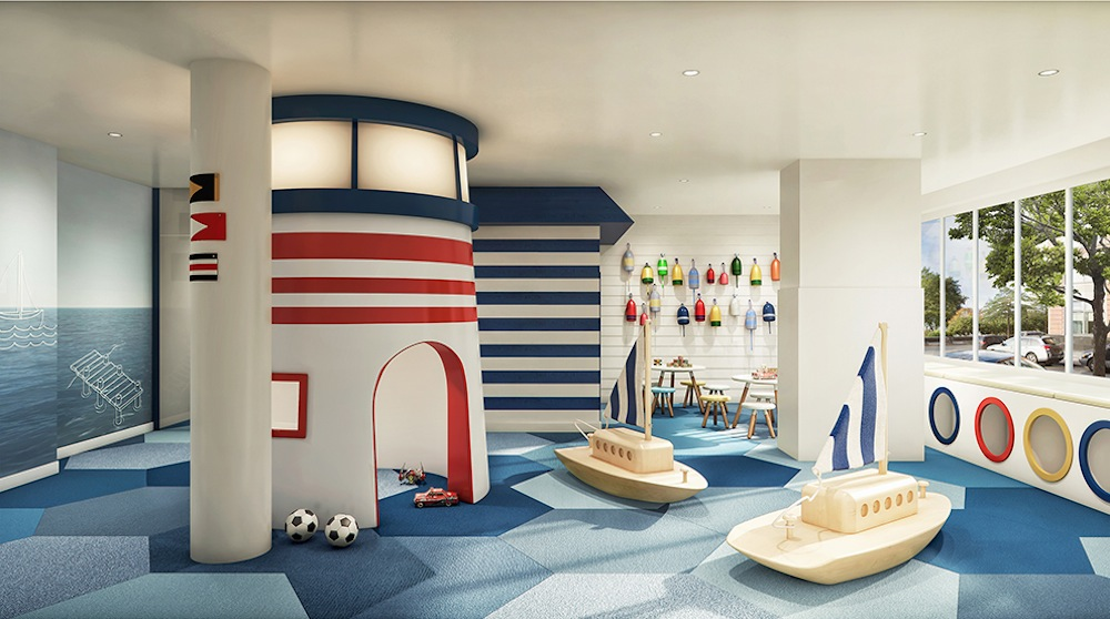 River and Warren playroom