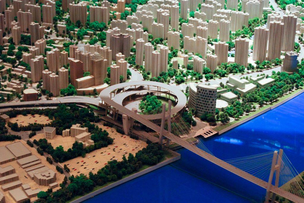 Shanghai model city-1