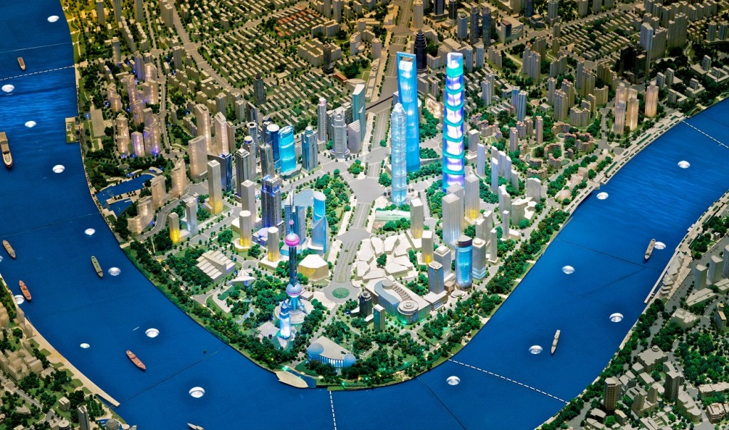 Shanghai model city