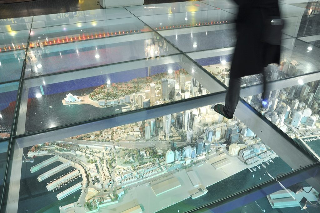 Sydney miniature model city