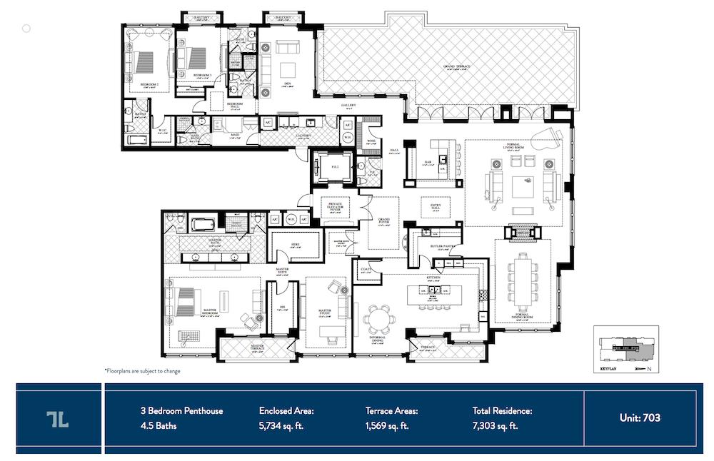 The Lauren Residence 703