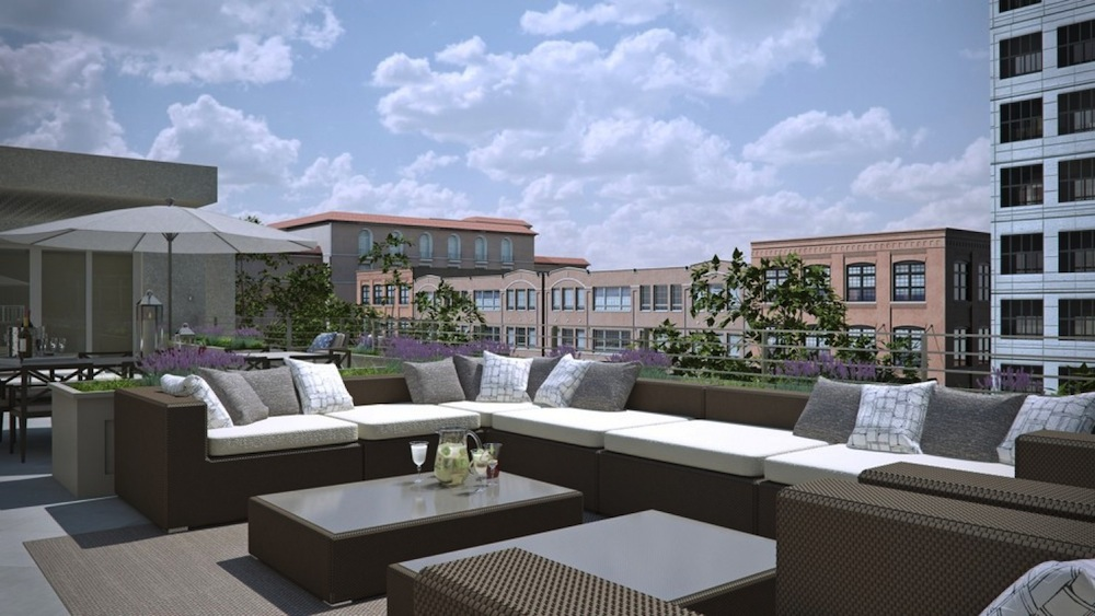 The Lauren Residences terrace