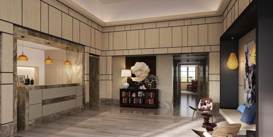 The Seymour lobby