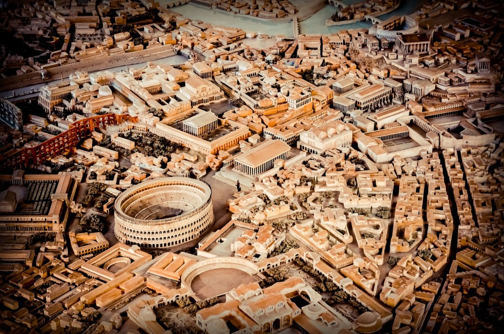 ancient rome miniature