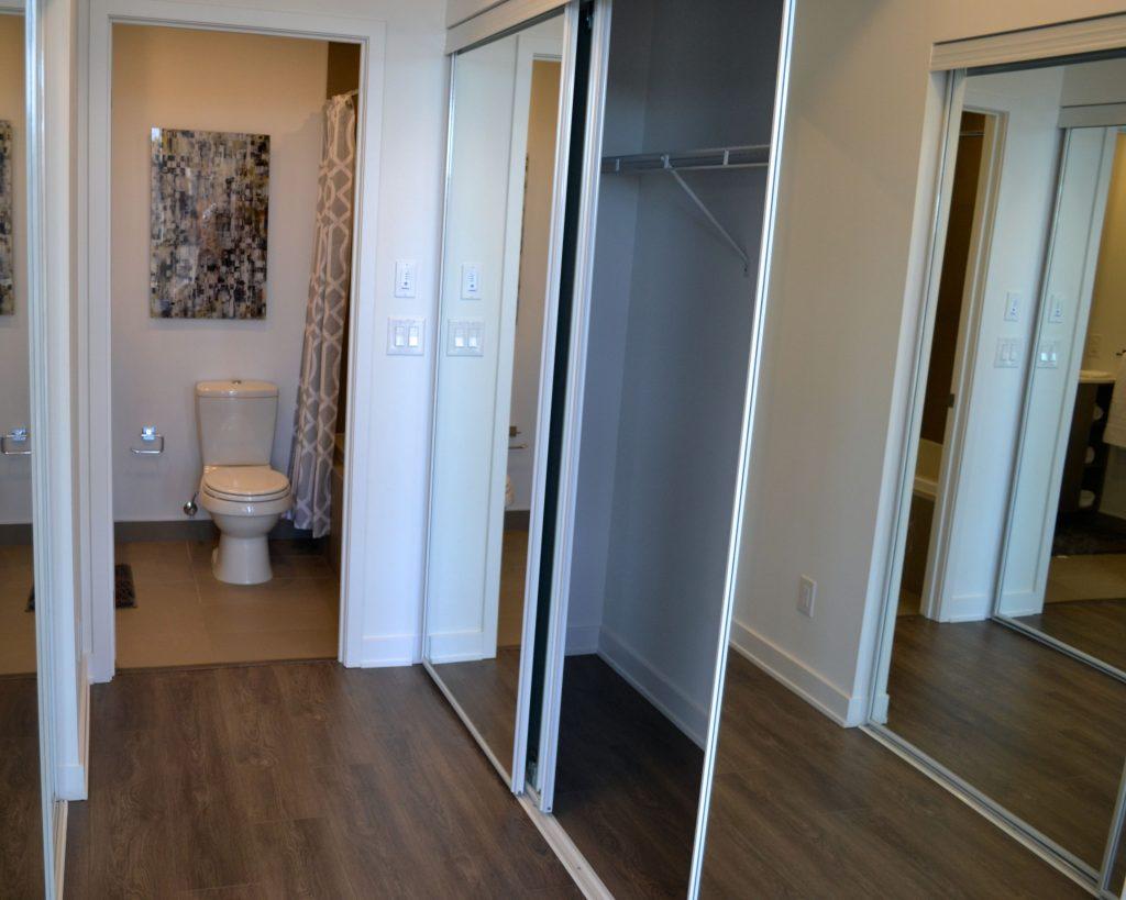 hallway + toilet