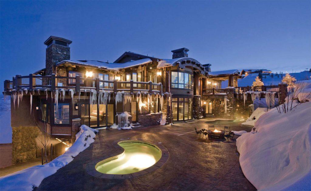 hot tub dream home