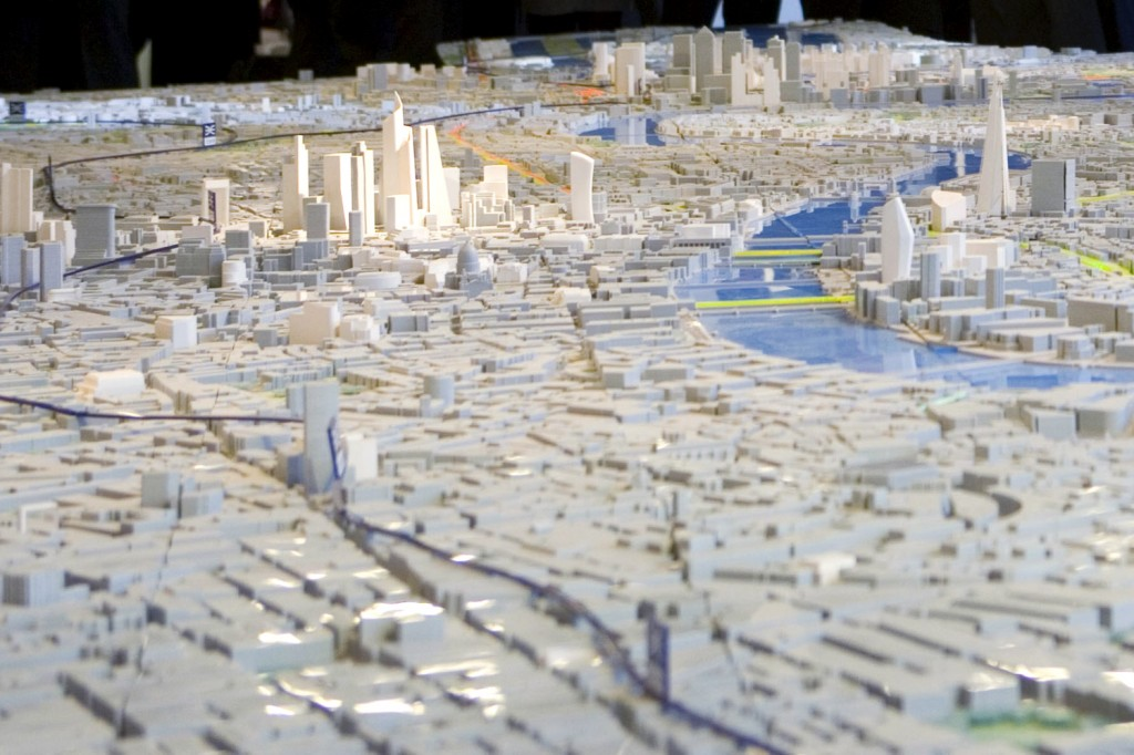 pipers scale model of london
