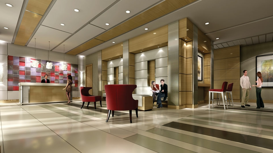 vivid lobby