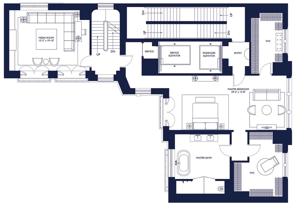 1110 Park 15th floor