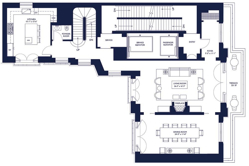 1110 Park 16th floor